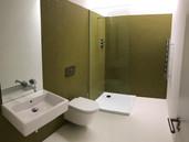 Spacious and minimalist shower room