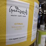 Greenscents citrus washing up liquid