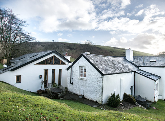 This Exmoor farmhouse was subsequently featured in the Exmoor magazine