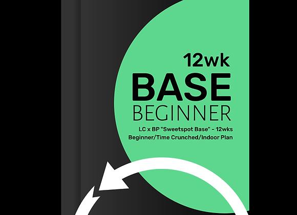 BASE Beginner 12wk Low volume base with intensity mix