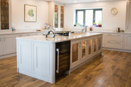 Kitchen in the Cove project fitted by Ware Construction.
