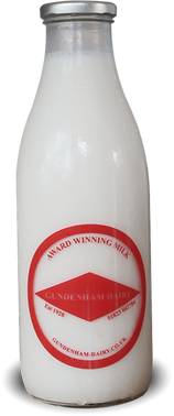 Loose milk available from Stuart Lowen Farm Shop