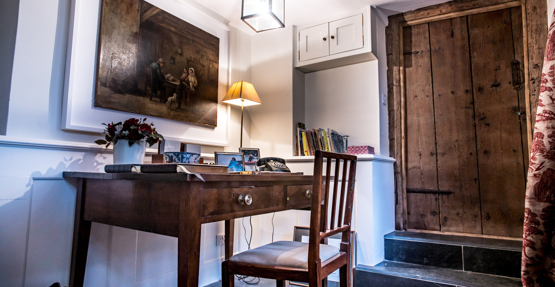 The farmhouse was completely renovated under the guidance of our contract manager and finished to an extremely high standard throughout.
