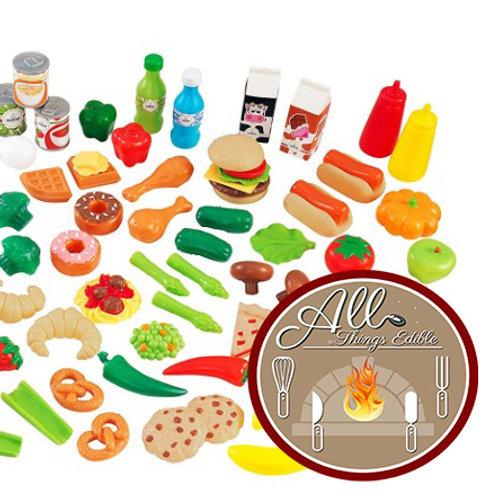KidKraft Play Food Set