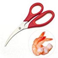 Prawn (Shrimp) Deveiner, Peeler and Scissors