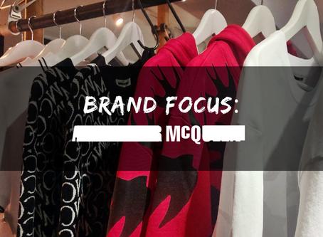 Brand Focus: MCQ Alexander McQueen