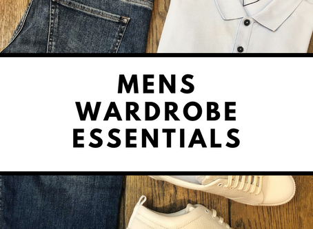 Mens wardrobe essentials: 6 things every man should own