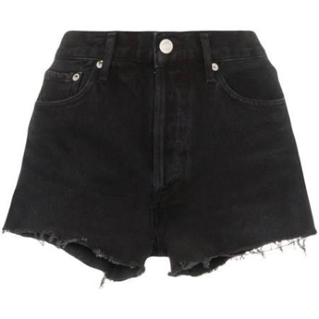 Agolde Parker Shorts in Crash