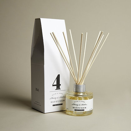 PLUM + ASHBY HONEY AND AMBER DIFFUSER