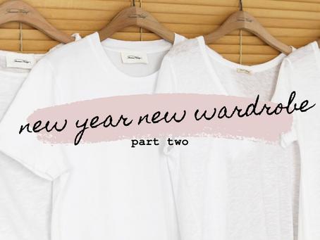 New Year New Wardrobe - part 2