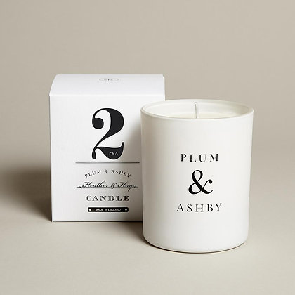 PLUM+ ASHBY HEATHER AND HAY CANDLE