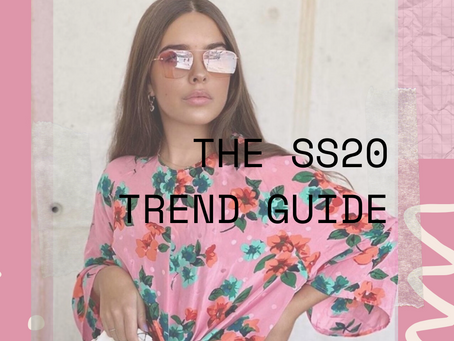 The SS20 Trend Guide: all the trends you need to know!