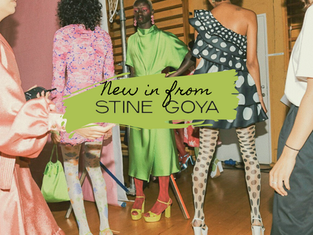 THIS IS NOT A DRILL: Stine Goya SS20 has just dropped