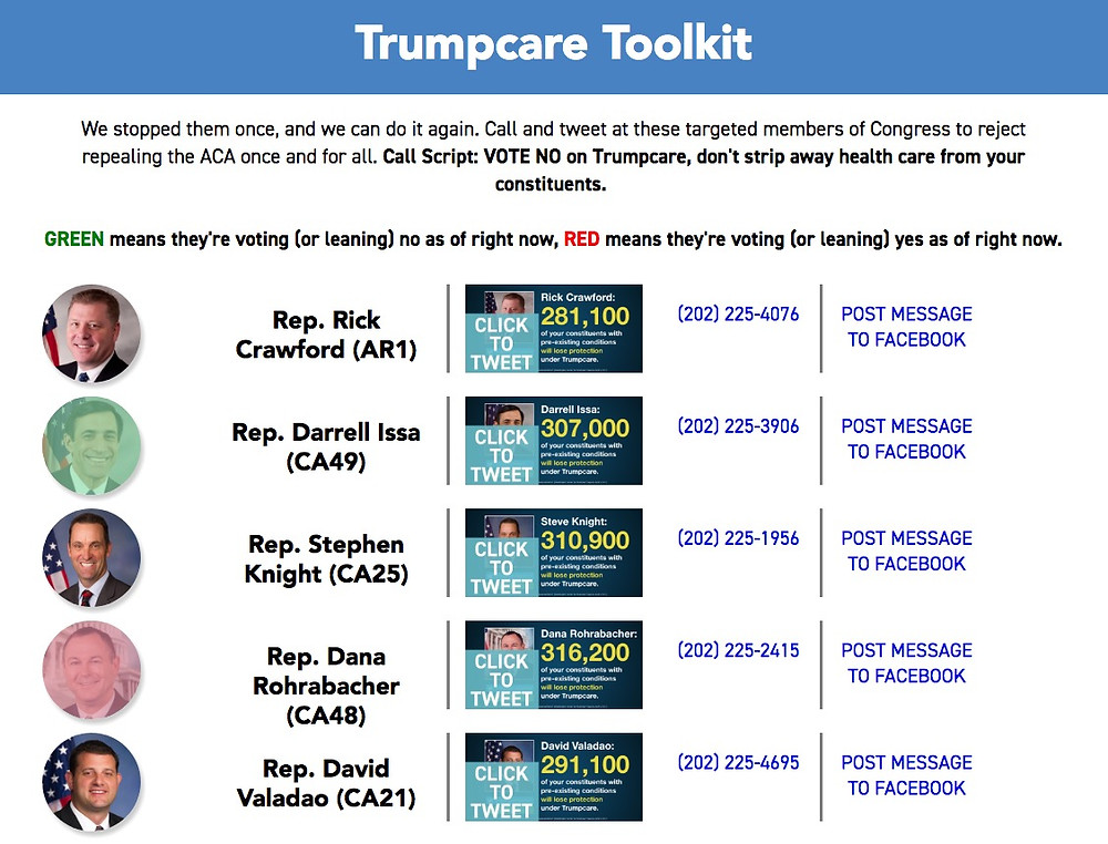 Trumpcare Toolkit