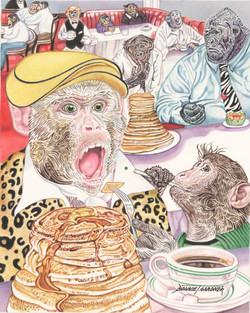 Peashooter at the International Hat of Pancakes