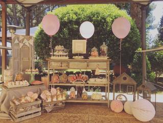 Sweet table, un must en tu comunión