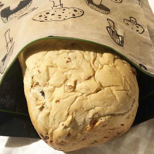 Waxed bread bag
