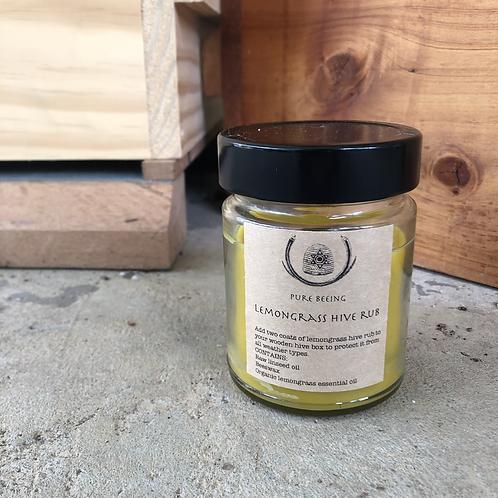 Lemongrass hive rub (for unpainted hive boxes)