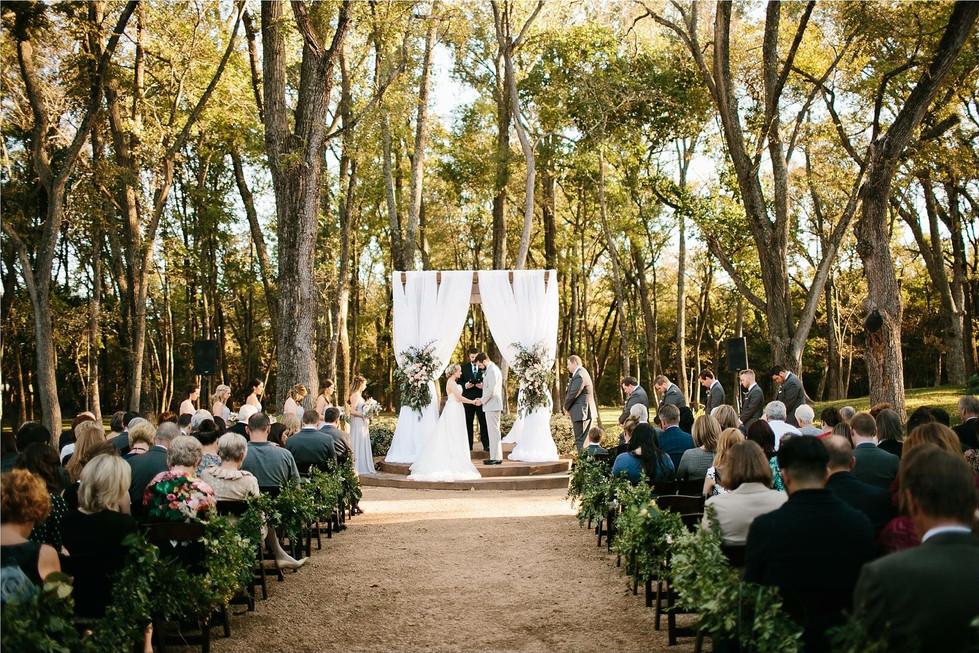 Hidden Waters Courtyard Ceremony