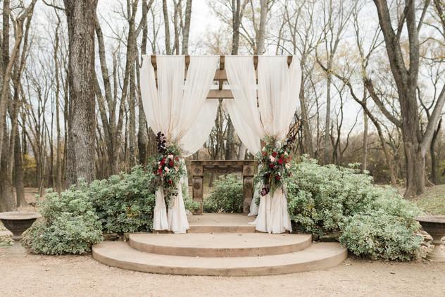 Hidden Waters Courtyard Ceremony Site