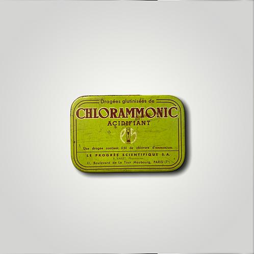 ANCIENNE BOÎTE Chlorammonic