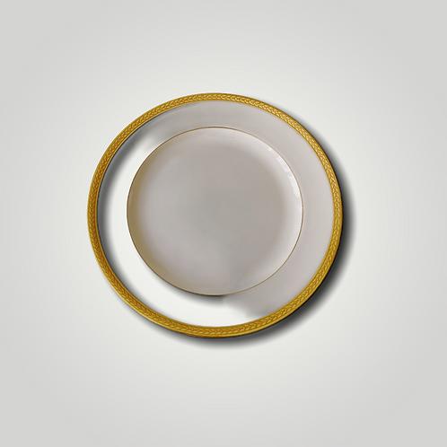 Assiette en porcelaine de Limoges (lot de 2)
