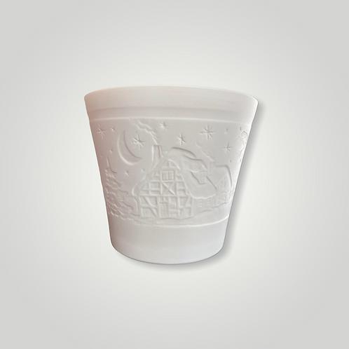 Bougeoir en porcelaine