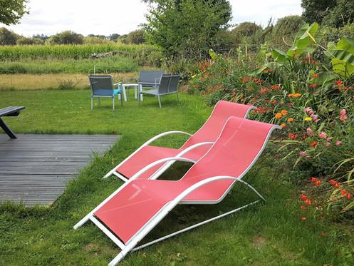 relaxez vous au jardin