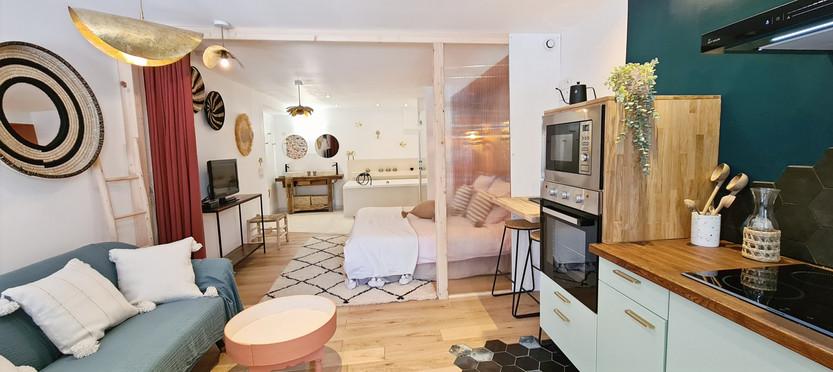 Suite spacieuse de 42 m²