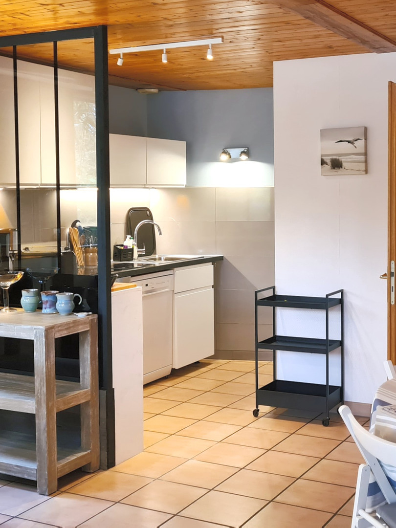 Séjour-cuisine de 28 m²