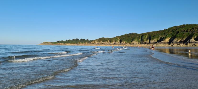 A 3 mn de route de la plage et des falaises