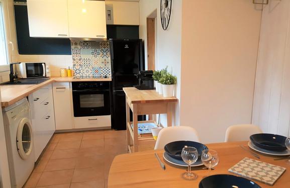 Séjour-cuisine de 20 m²