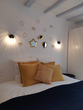Chambre 2 - préparée en lit double