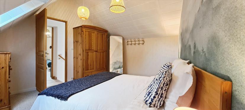 le confort d'un lit Queen-size (160)