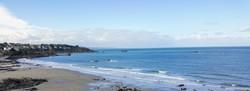 Observer la mer à St Quay en hiver