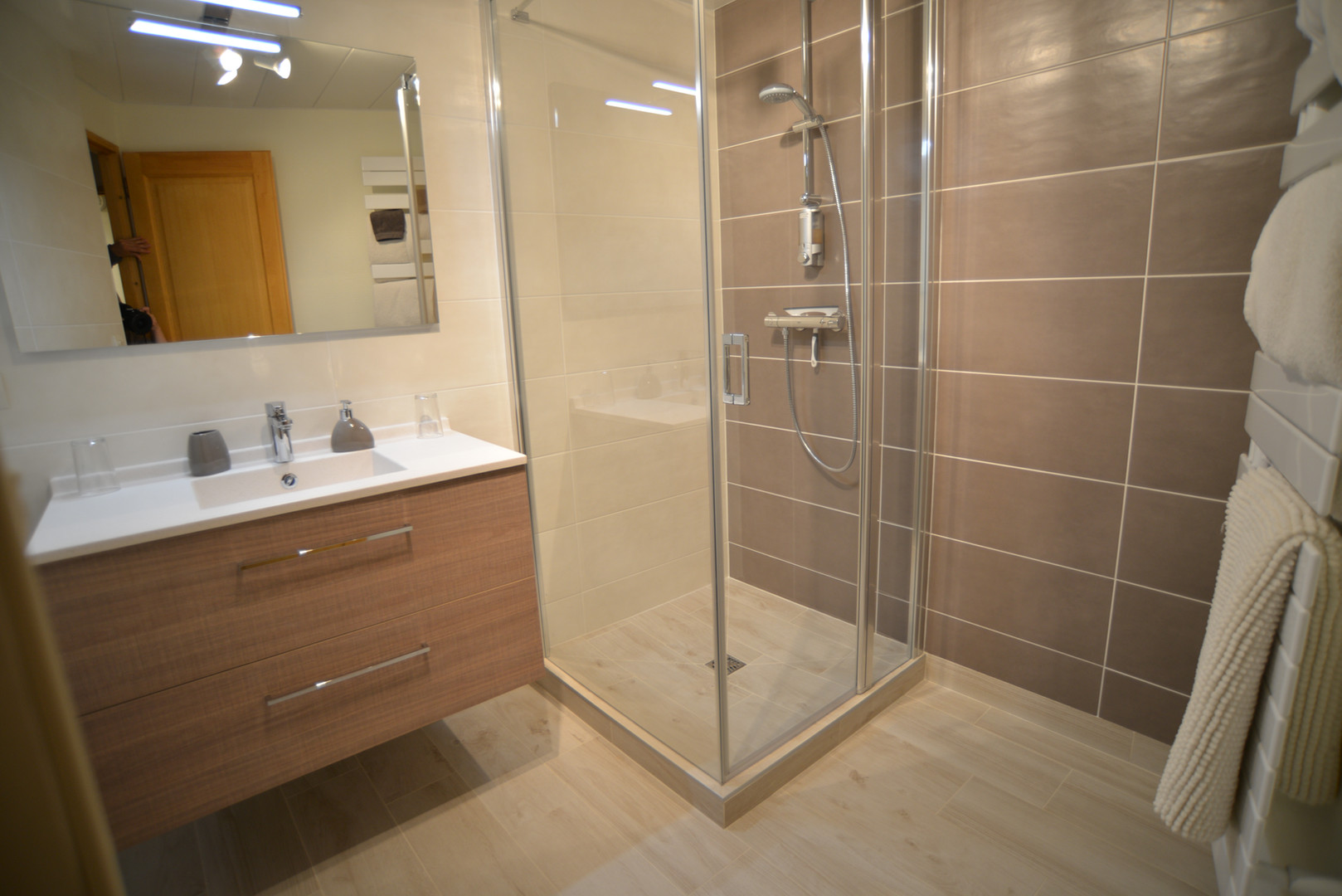 profiter d'une salle d'eau moderne