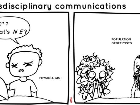 Chloé's Transdisciplinary Communications comics