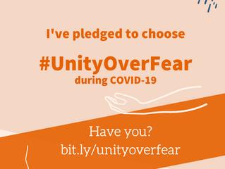 Campaign Launch: #UnityOverFear