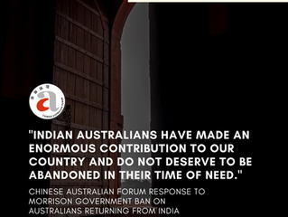 [Media Release] CAF Response to Morrison Government Ban On Australians Returning from India