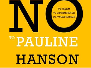 [Campaign] CAF standing against Pauline Hanson