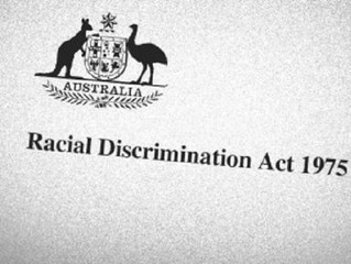 [Press Release] Turnbull fails on 18C and Multiculturalism