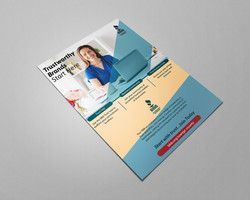 Flyer Design for a International Certification Company