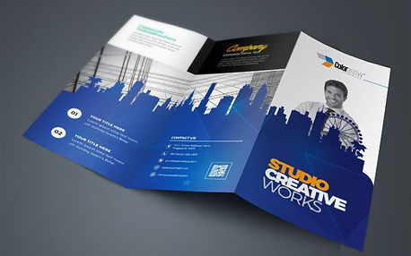 trifold-brochure-with-egyptian-blue-buil