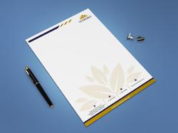 Modern Letter Head Design