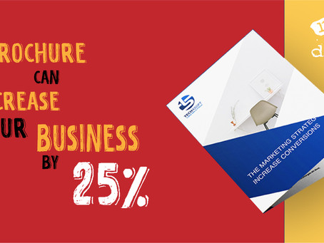 A Professional Design Brochure can increase your business by more than 25%.