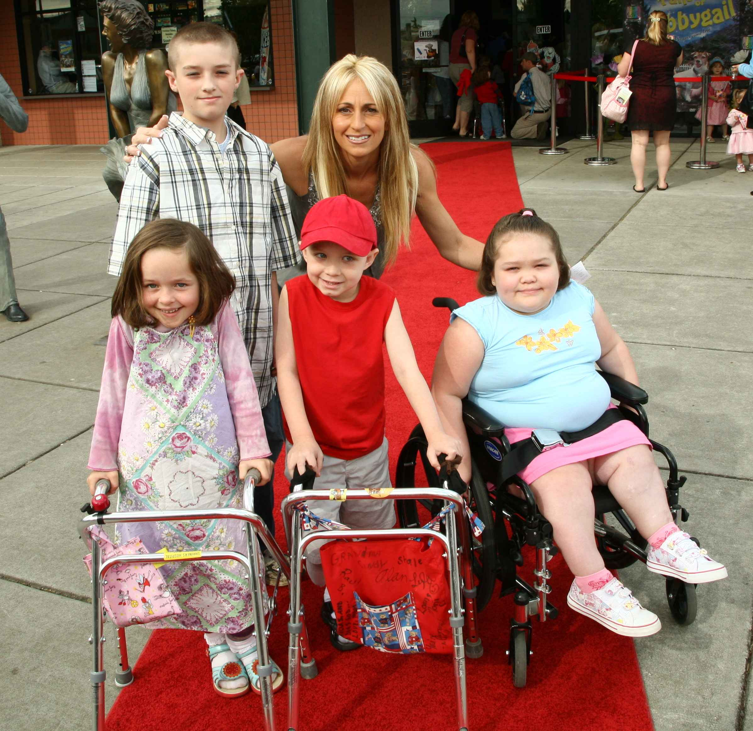 VIP Children on the Red Carpet