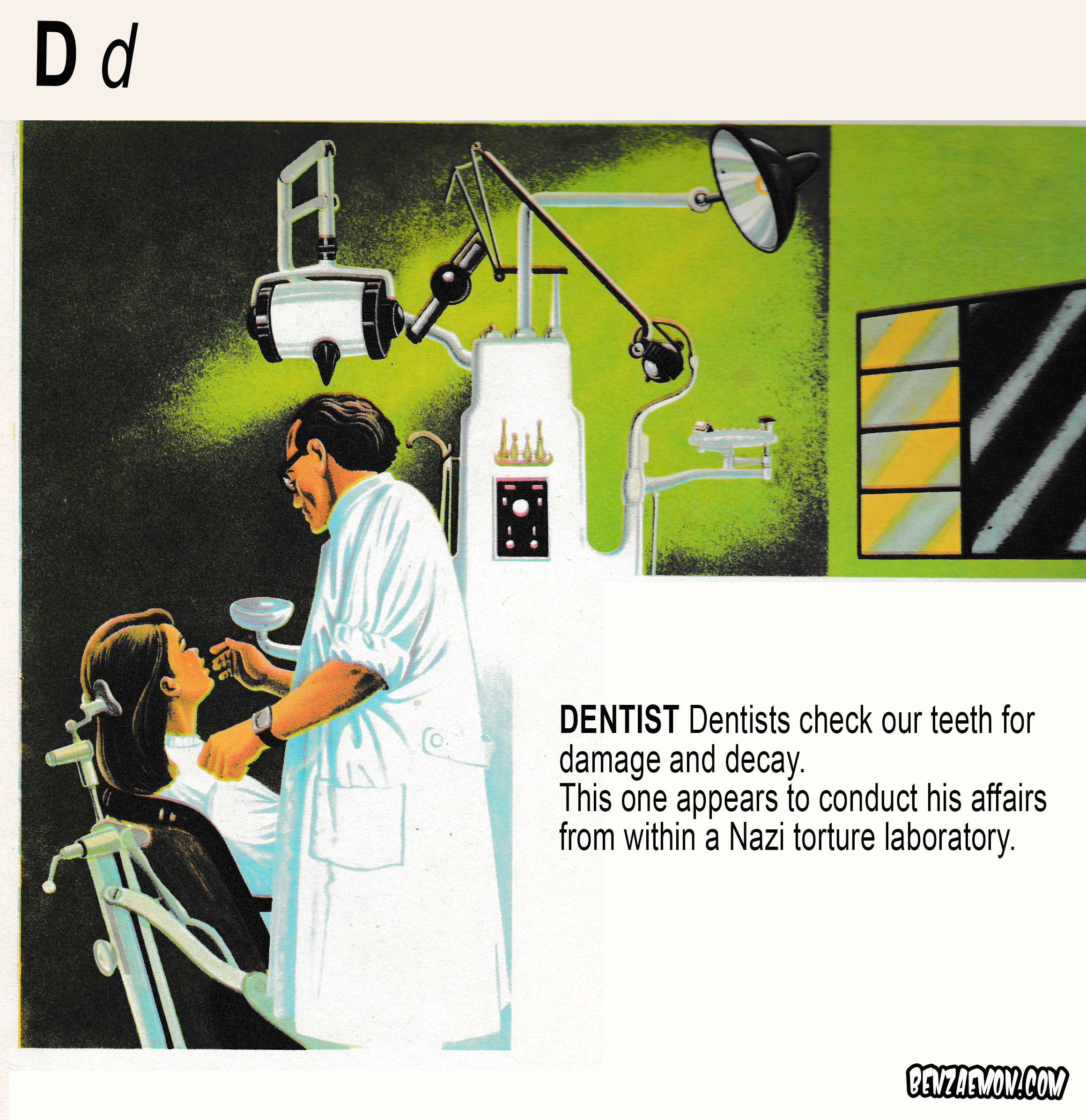 PICTURE DICTIONARY DENTIST