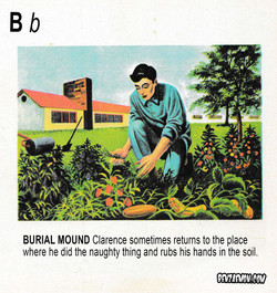 PICTURE DICTIONARY BURIAL MOUND