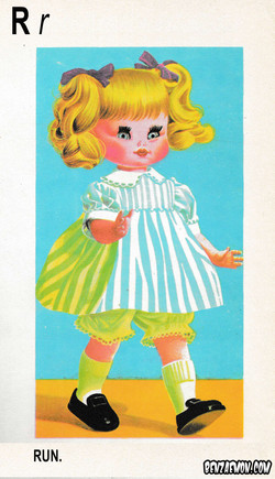 PICTURE DICTIONARY DOLL