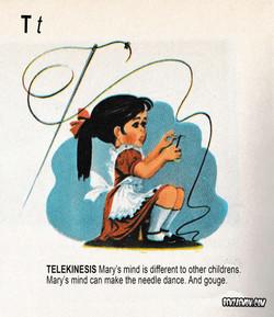 PICTURE DICTIONARY TELEKINISES